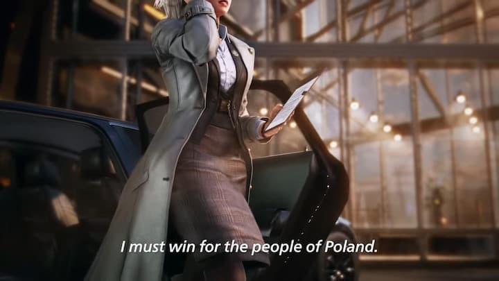 Poolse minister-president geteased als nieuwe character TEKKEN 7