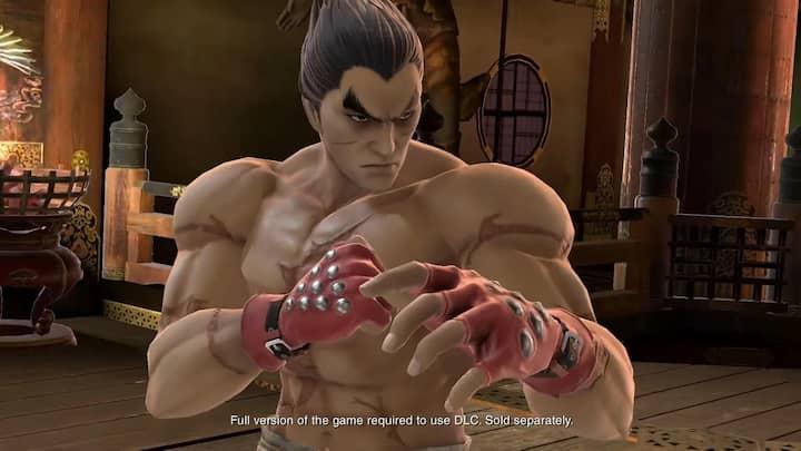 Kazuya als downloadable content naar Super Smash Bros. Ultimate