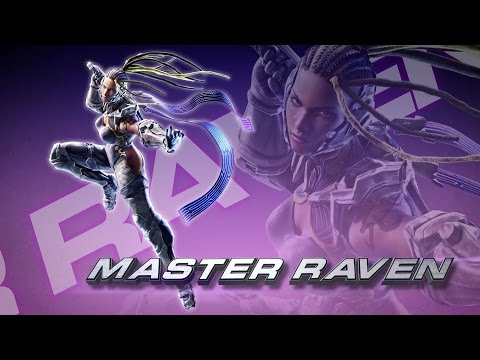 Tekken 7 Fated Retribution: Master Raven Revealing