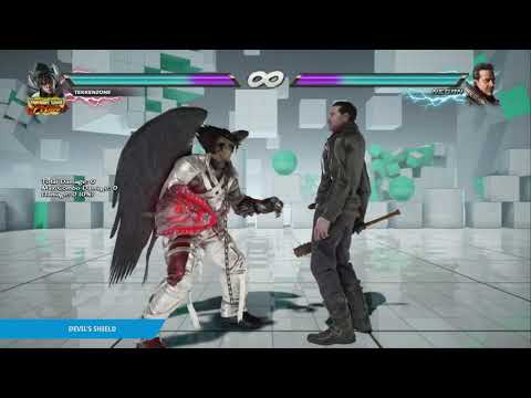 "TEKKEN 7 - Devil Jin's ""Devil's Shield"" Item Move"