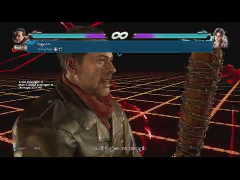 TEKKEN 7 - Negan Movelist (Season 2)