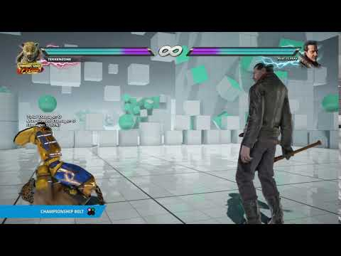 "TEKKEN 7 - King's ""Championship Belt"" Item Move"
