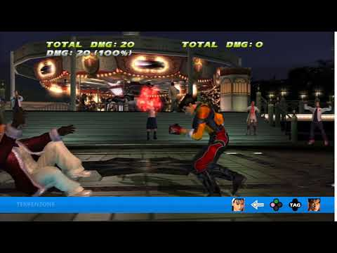 TEKKEN TAG HD - Jun + Jin Tag Throw