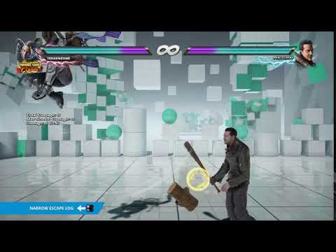 "TEKKEN 7 - Master Raven's ""Narrow Escape Log"" Item Move"