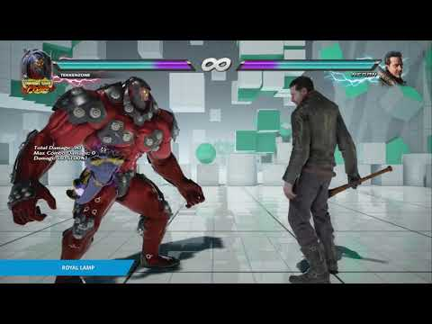 "TEKKEN 7 - Gigas's ""Royal Lamp"" Item Move"