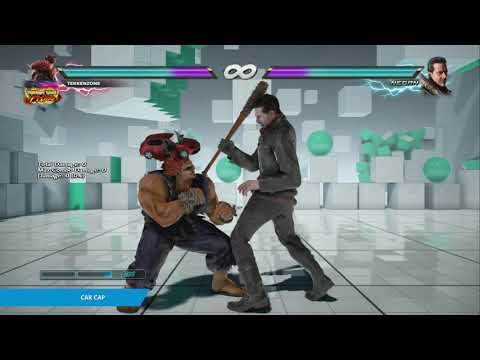 "TEKKEN 7 - Akuma's ""Car Cap"" Item Move"