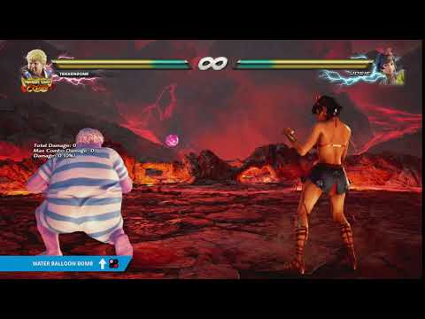 "TEKKEN 7 - ""Water Balloon Bomb"" Item Move"