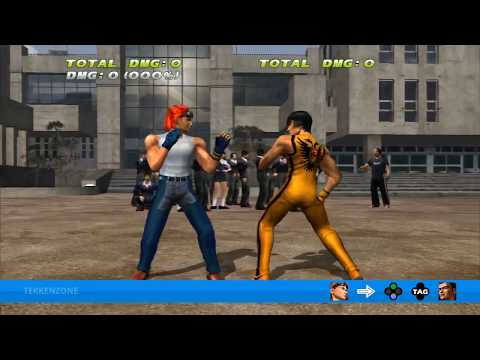 TEKKEN TAG HD - Hwoarang + Baek Tag Throw