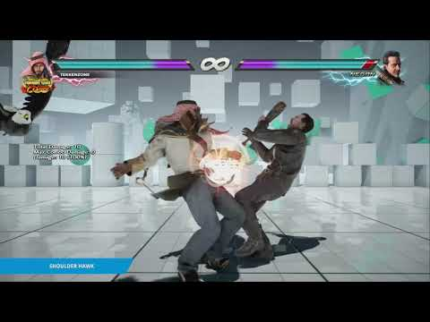 "TEKKEN 7 - Shaheen's ""Shoulder Hawk"" Item Move"