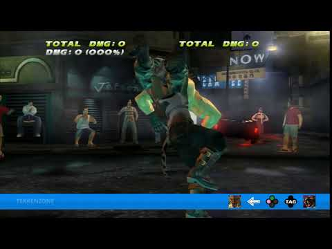 TEKKEN TAG HD - King + Armor King Tag Throw