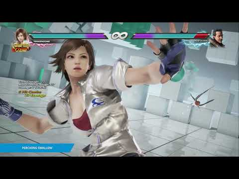 "TEKKEN 7 - Asuka's ""Perching Swallow"" Item Move"