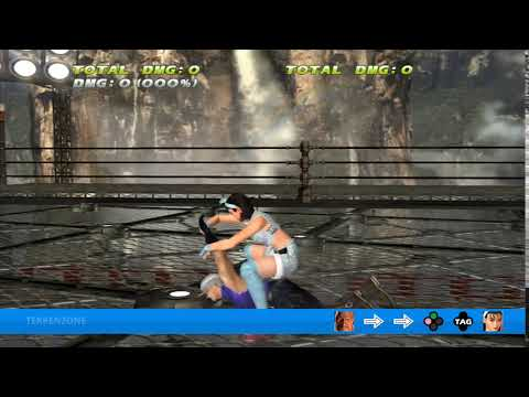 TEKKEN TAG HD - Heihachi + Jun Tag Throw