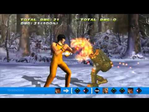 TEKKEN TAG HD - Law + Paul Great Combo