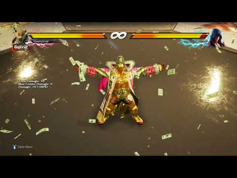 TEKKEN 7 - King's Rainmaker Rage Art